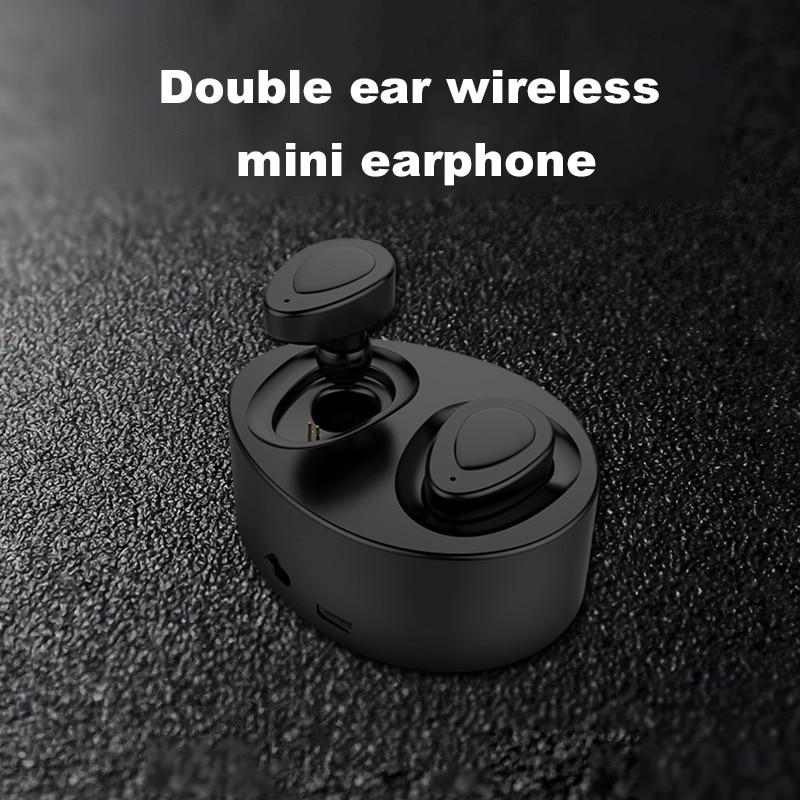 K2tws  Bluetooth 4.1 True Wireless Stereo earphones headset handsfree earbud with MIC charging box for microtphones 2017 scomas i7 mini bluetooth earbud wireless invisible headphones headset with mic stereo bluetooth earphone for iphone android