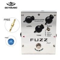 Biyang Tonefancier FZ 7 Guitar Bass Effect Pedal 3 Models Fuzz Effect guitar Pedal True Bypass with gold pedal connector
