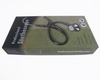 CE Professional Kindcare Stainless Littmann Shape Dual Head Cardiology Estetoscopio Cute Medical Stethoscope massage
