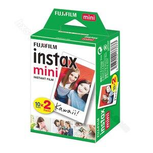 Image 3 - 100/60 weiß Blätter Echten Fuji Fujifilm Instax Mini 11 Film Für Mini 9 8 9 7s 7c 90 70 25 teilen SP1 SP2 Liplay Instant Kameras