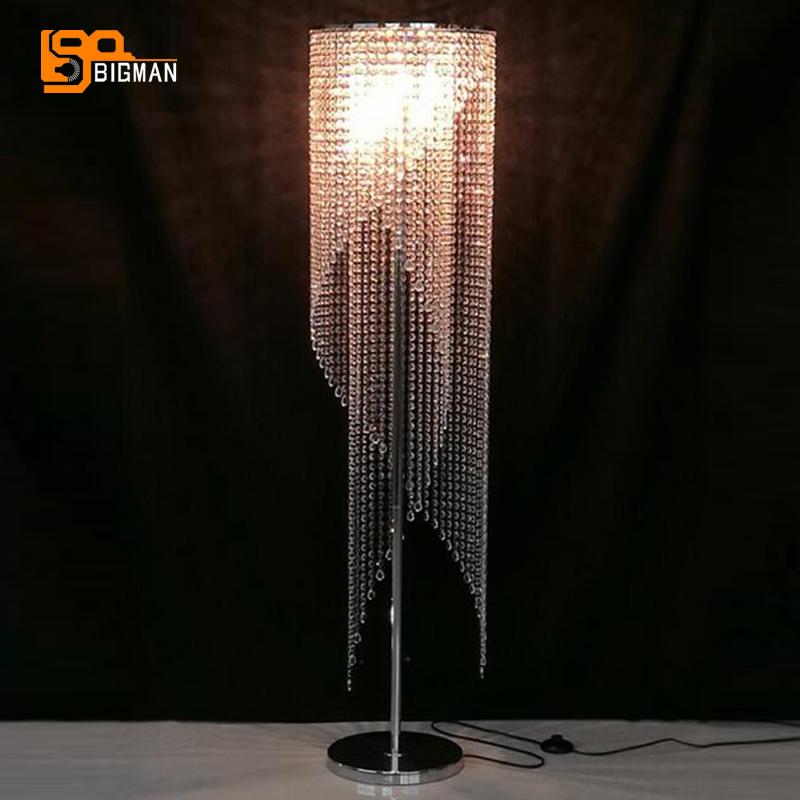 kristall stehleuchte-kaufen billigkristall stehleuchte partien aus ... - Moderne Wohnzimmer Stehlampe