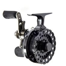 Carrete de pesca LEO carrete de mosca carrete de pesca de hielo carrete de pesca de arrastre de estrella 4   1 rodamiento de bolas 2,6: 1 Relación de engranaje derecha/izquierda