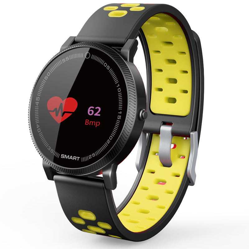 MOCRUX F4 Color Touch Screen Smartwatch Smart Sport Fitness Watch Men Women Heart rate monitor Wearable Devices for IOS Android (2)