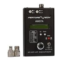 DIY AW07A HF VHF UHF 160M Impedance SWR Antenna Analyzer For Ham Radio