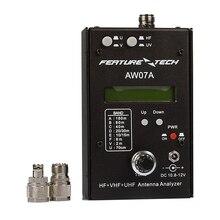 DIY AW07A HF/VHF/UHF 160 M Impedancia SWR Analizador de Antena Para la Radio de Jamón
