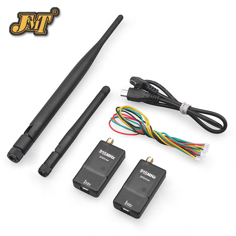 JMT 3DR Radio Telemetry Kit Data transmission Module 500MW with OTG 433MHZ/915MHZ Support MWC/APM/PX4/Pixhawk Flight Controller цена в Москве и Питере