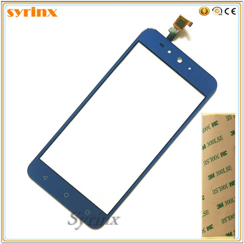 SYRINX Free 3m tape Moible Phone touchscreen For DEXP Ixion Z155 touch screen digitizer front glass panel sensorSYRINX Free 3m tape Moible Phone touchscreen For DEXP Ixion Z155 touch screen digitizer front glass panel sensor
