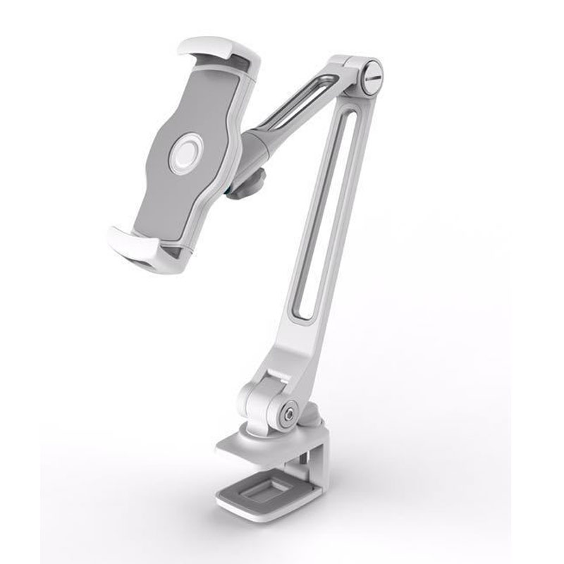 Desktop Buckle Type Tablet Stand Screen 360 Rotating Arm Multiple Rotation Lazy People Aluminum Holder for
