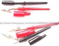 10 комплект мультиметр ручка , чтобы крокодил для зонды зажим кабеля пайки DIY
