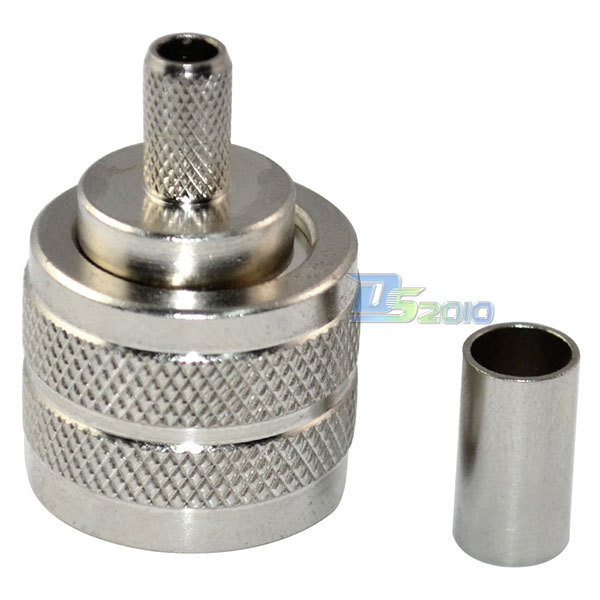 High QualityUHF Male PL-259 Plug Crimp LMR195 RG58 RG142 RG400 RF Coaxial Connector AdapterHigh QualityUHF Male PL-259 Plug Crimp LMR195 RG58 RG142 RG400 RF Coaxial Connector Adapter