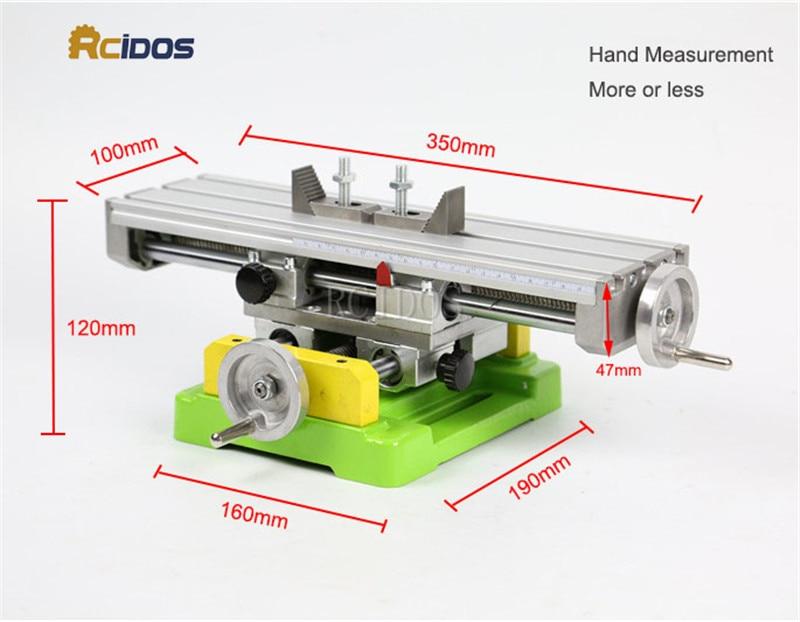 BG-6350 Mini összetett pad / famegmunkálási padok, RCIDOS asztali - Famegmunkáló berendezések - Fénykép 3