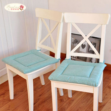 Proud Rose 40*40cm Thicken Autumn and Winter Chair Cushion Simple Linen Student Seat Cushion Solid Color Office Chair Cushion