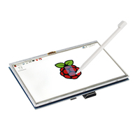 Brand New 5 Inch Raspberry Pi LCD Touch Screen Kit 800x480 HDMI LCD Display 5 With