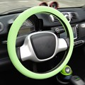 Pattern Car Steering Wheel Cover Skidproof Silicone Soft Car cover on the steering wheel Car accessories Hot Sale