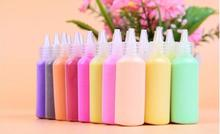 12 different colors of sand painting bottles / 24 bottle 40G / bottle materials for educational toys sand quartz sand