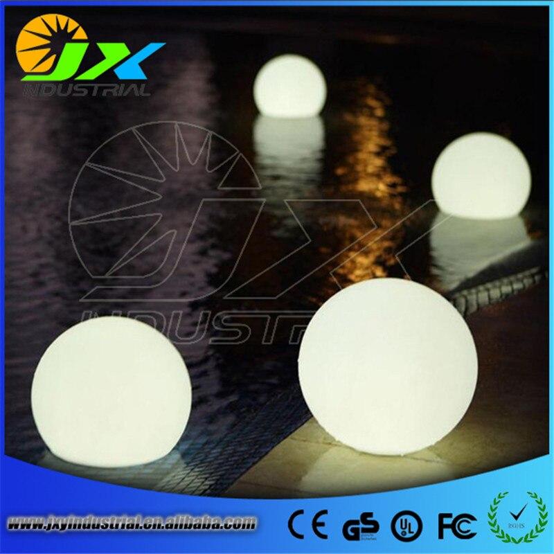 ФОТО JXY 4pcs*20cm Hot DHL Free Shipping Rechargeble RGB 16 Colors LED Floating Ball Lamp