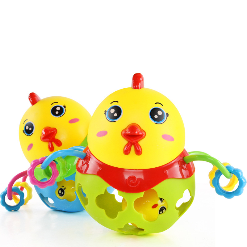 Educational Toys For Newborns : Baby rattles toys educational for newborns chicken