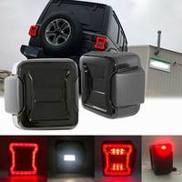 The Newest For Jeep Wrangler JL 2018 2019 For Jeep Wrangler Taillights Smoked LED Tail Lights with USA Version