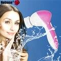 5 em 1 Elétrica Lavagem de Cara Máquina Pro Rosto Massageador Facial Pore Cleaner Corpo Limpeza Massagem Mini Beleza Da Pele Massageador escova