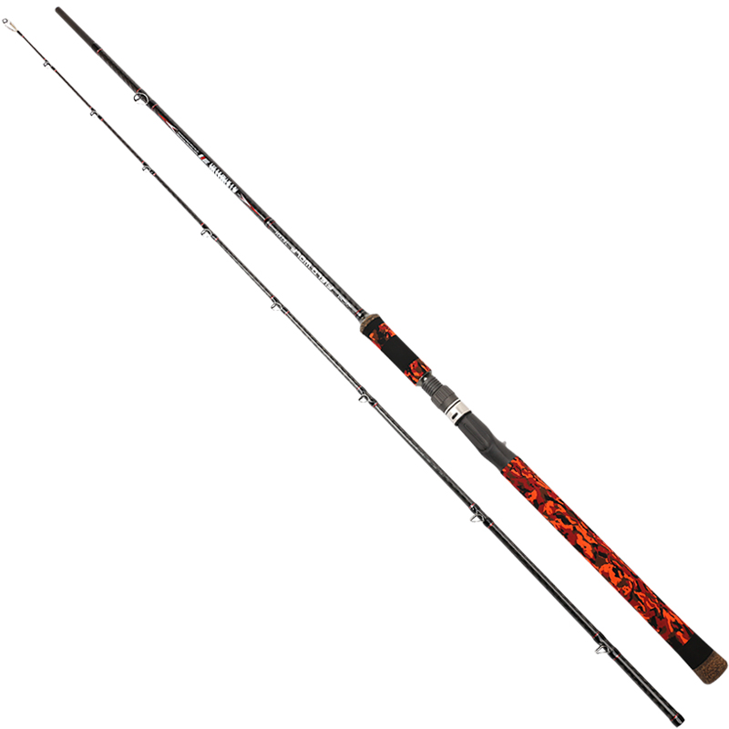 Tsurinoya Casting Fishing Rod  7'87/2.28M Soft bait  Carbon rod with Fuji Ring Reel Seat Lure weight 7-25g M Power 762XH trulinoya fuji reel seat 8 9 10 sea bass fishing rod m 15 40g