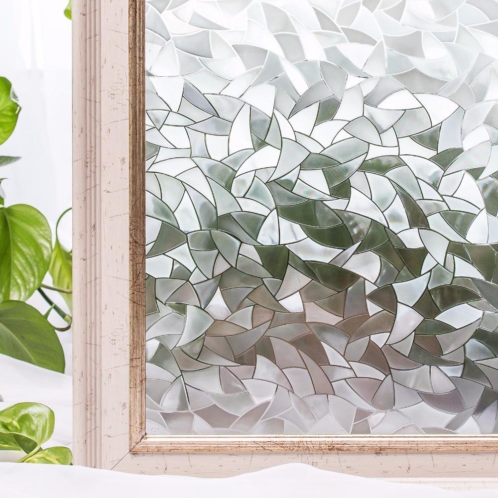 CottonColors PVC cubierta de la ventana a prueba de agua películas - Decoración del hogar