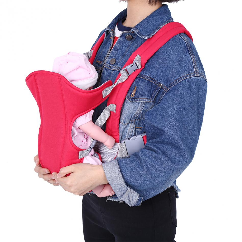 Baby-Carrier Sling Carrying-Wrap Seat Front-Backpack Double-Strap Comfortable Adjustable