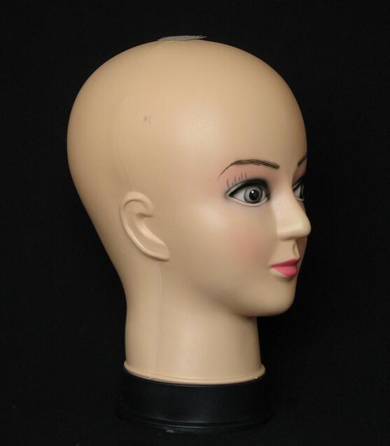 wholesale Female maquillage Glasses hat head mannequin hair tete a coiffer pour perruque,makeup mahekebi topc paspop M00519