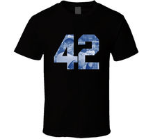 27bf6345 Jackie Robinson Movie 42 Black T Shirt Tee Size S-3XL Clothing Gift New  From US