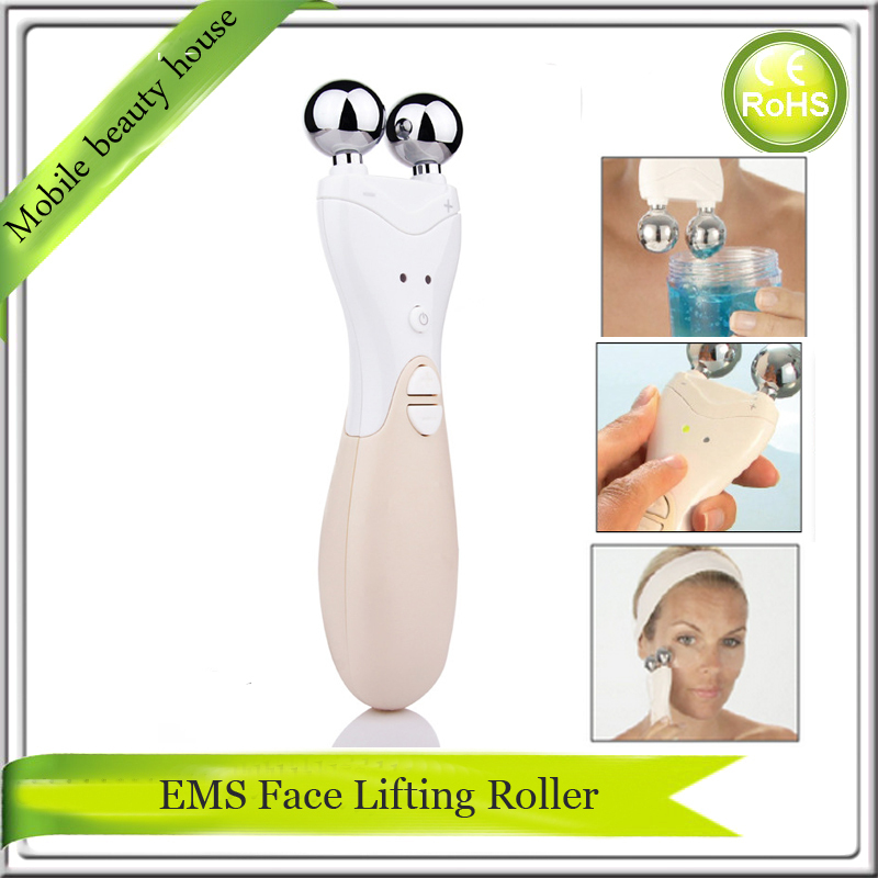 Instantly Ageless Face Lift EMS Bio Micocurrent Skin Stimulation Collagen Growth Wrinkle Removal Facial Firming Roller Massager l arisse bio collagen