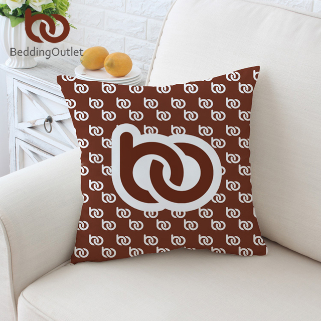 BeddingOutlet Custom Made DIY Cushion Cover Print on Demand Pillow Case POD Customized Throw Cover Dropshipping Pillow Covers