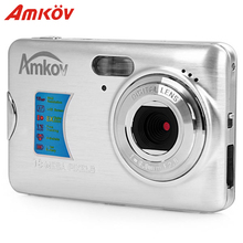 Оригинальный Amkov AMK-CDFE Профессиональный Камера компактный Камера 8MP 2.7 дюйма ЖК-дисплей 9.5*6*2 см мини Портативный HD Камера цифровой Камера s