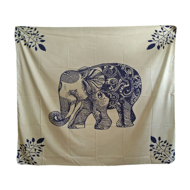 Elephant Tapestry Wall Hanging aliexpress : buy colorful printed indian elephant tapestry