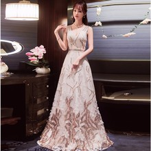 Traditional Chinese Dresses Qipao 2017 Bride Sexy White Embroidery Flower Cheong