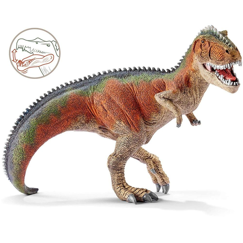 7inch 14543 Jurassic Park Giganotosaurus Rex Dinosaur Model Toys PVC Large Action Figure Toy For Kids Gifts