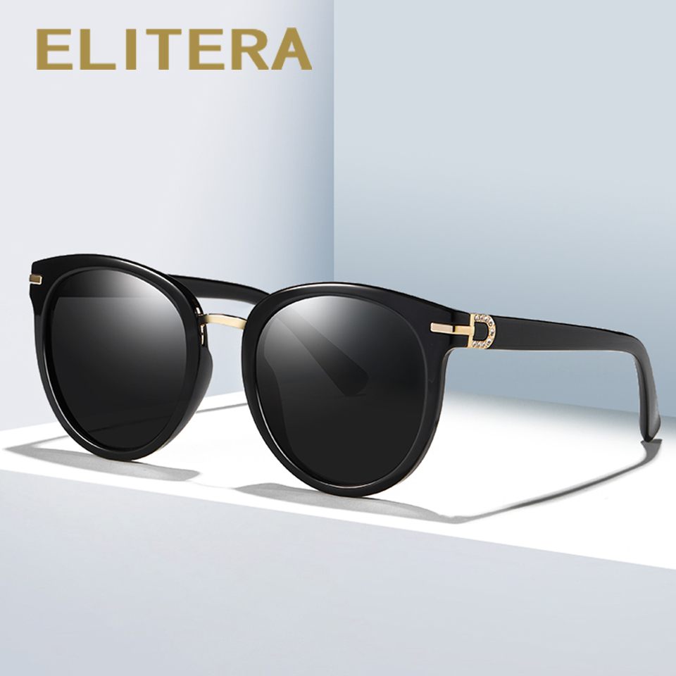 5693a0a288 ELITERA Brand Design Female Sunglasses Women Men Round Retro Vintage Sun  Glasses Summer Fashion Eyewear UV400