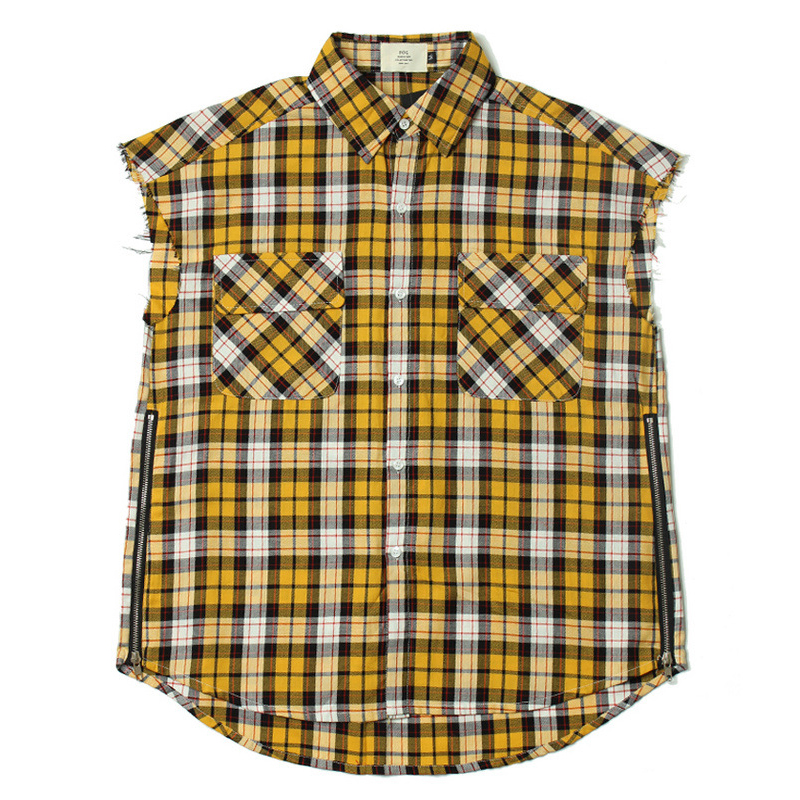 Compare Prices on Yellow Plaid Shirt Men- Online Shopping/Buy Low ...