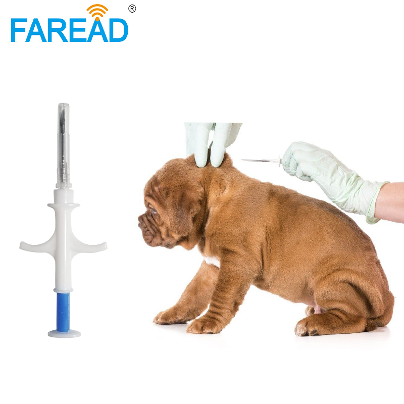 X10pcs Animal Pet Syringe Dog Microchip ID Tracking ICAR Register ISO11784/5 FDX-B Unique 15digital Number Glass Injectable Tag