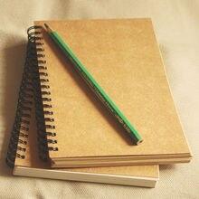 New Handmade Journal Memo Dream Notebook Paper Notepad Blank Diary Kraft Vintage Painting Paper