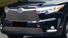 Autour de l'avant grille coupé pour s'adapter à grills Racing 2014 2015 TOYOTA HIGHLANDER 4 PCS