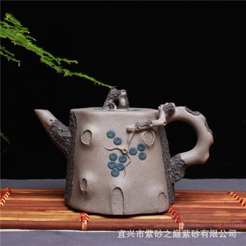 all hand famous ceramic tea-pot undressed ore mud double needle plum tree stumps teapot 520 ml support mixed batchall hand famous ceramic tea-pot undressed ore mud double needle plum tree stumps teapot 520 ml support mixed batch