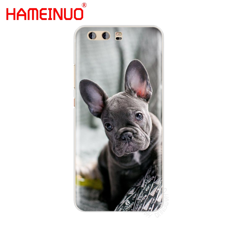 HAMEINUO French Bulldog Puppy Cover phone Case for huawei Ascend P7 P8 P9 P10 P20 lite plus G8 G7 2017 mate 8