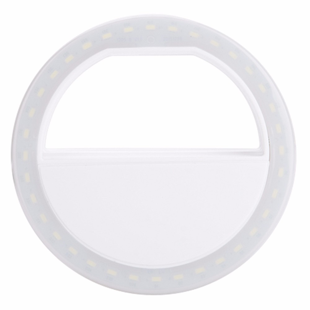 Luksusowe Uniwersalne Świetlna LED Flash Light Up Selfie Telefonu Pierścień Dla iPhone 6 6 S Plus LG Samsung Dla Xiaomi Huawei Lenovo Oneplus 13