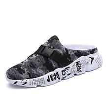 Allwesome Croc Shoes Men Summer Massage Clogs Outdoor Beach Sandals Slippers Flip Flops Slides Sandalia Hombre