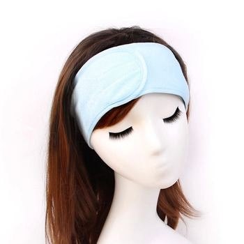 1 PC SPA Shower Head Band Bath Beauty Salon Hair Band Sweat Elastic Soft Headband Washing Face Makeup Hairband girl