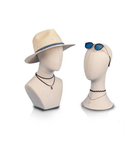 Meilleure qualité nouvelle offre spéciale Style tissu couverture tête Mannequin modèle de tête en vente