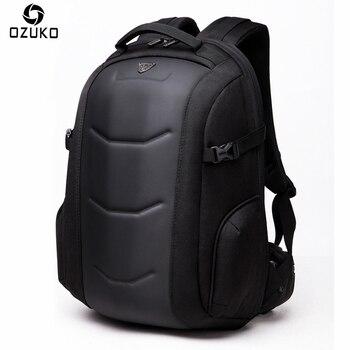 OZUKO New Arrive Backpack Men Business Laptop Backpack Multifunction Waterproof Travel Bag Male Mochila School Bags For Teenager laptop bag