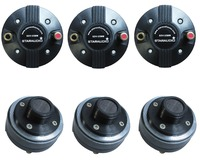 STARAUDIO 6Pcs 25MM 1000W 8 Ohms Titanium Compression Speaker Replacement Horn Driver Tweeters SDV 25MM