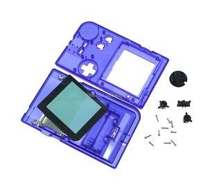 Image 5 - Remplacement réparation coque complète boîtier boîtier housse boîtier complet coque avec boutons pour jeu garçon poche GBP