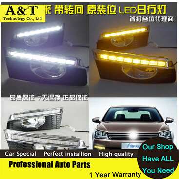 A&T car styling 2013-2014 For VW BORA led Daytime Running Light led Fog light High Quality LED DRL издательство аст рокировка