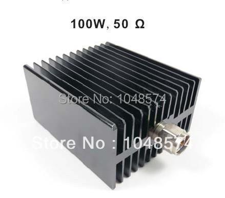 Бесплатная Доставка N мужской 50 ом Dc-3 Ггц 100 Вт эквивалент нагрузки
